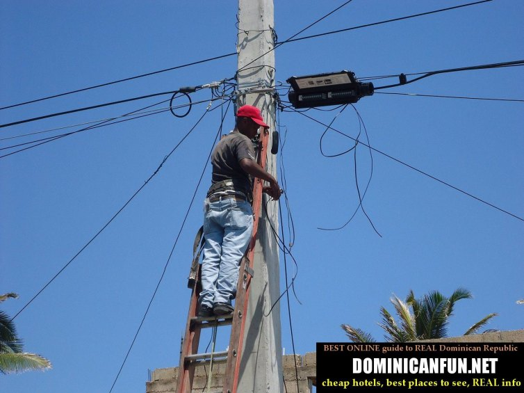 power outages in dominican republic
