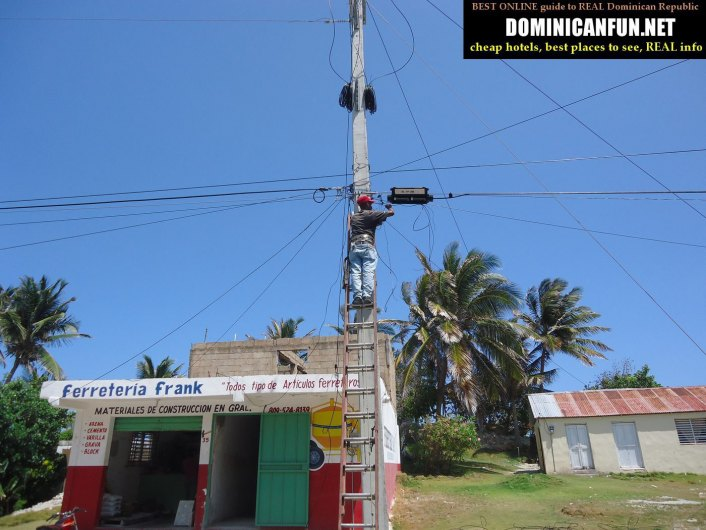 Enriquillo Dominican Republic electricity problems