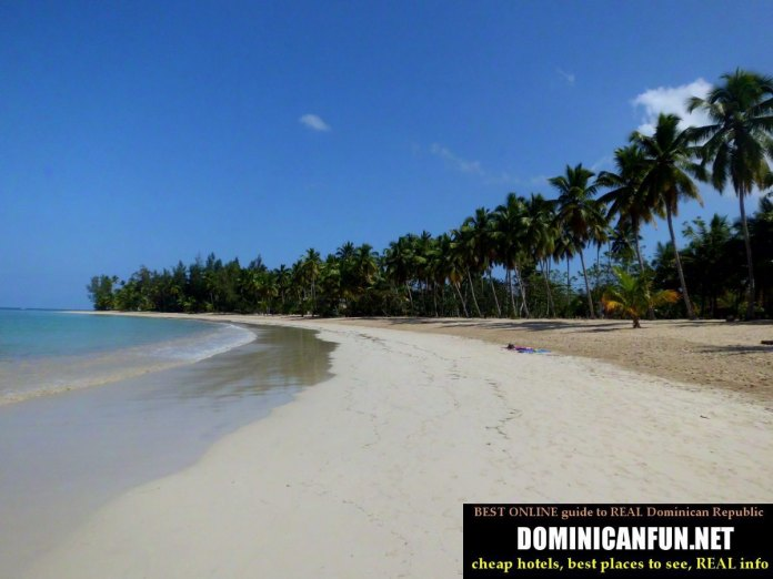 beaches in Las Terrenas