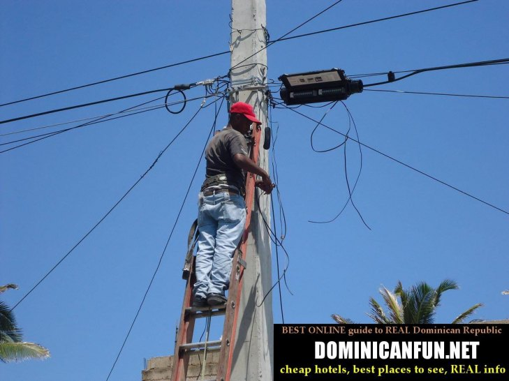 power outages Dominican Republic