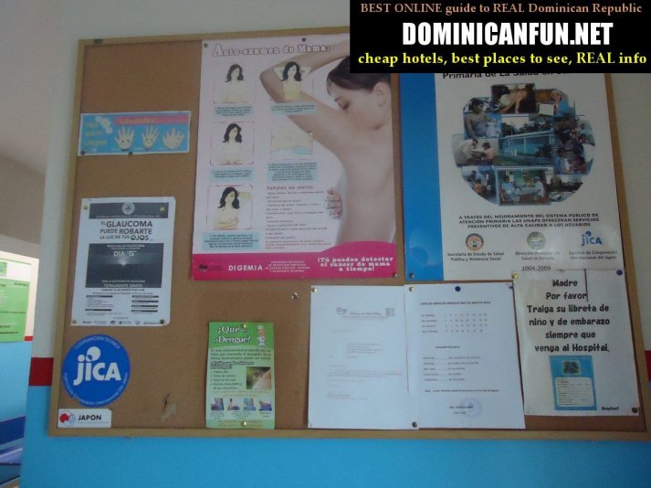 Dominican Republic, hospital