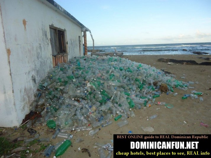 plastic bottles Dominican Republic