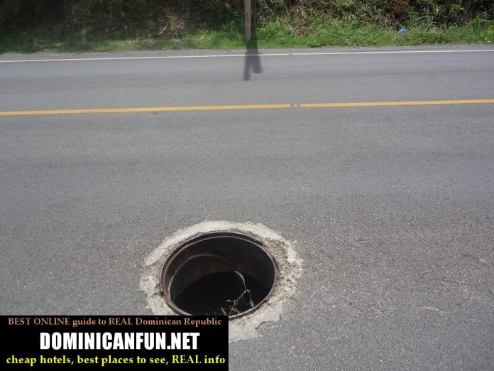 dominican republic potholes