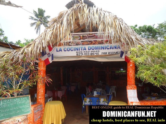 dominican republic, restaurant