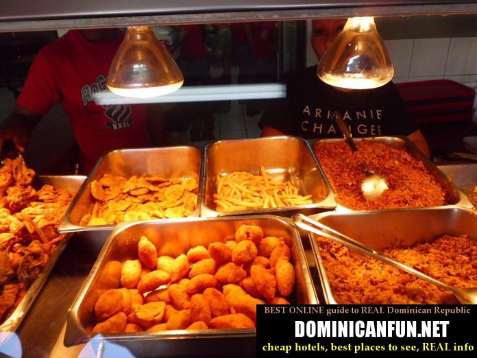 comedor food in Dominican Republic