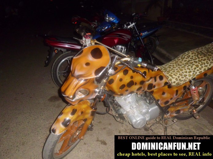 crazy motorbikes in dominican republic