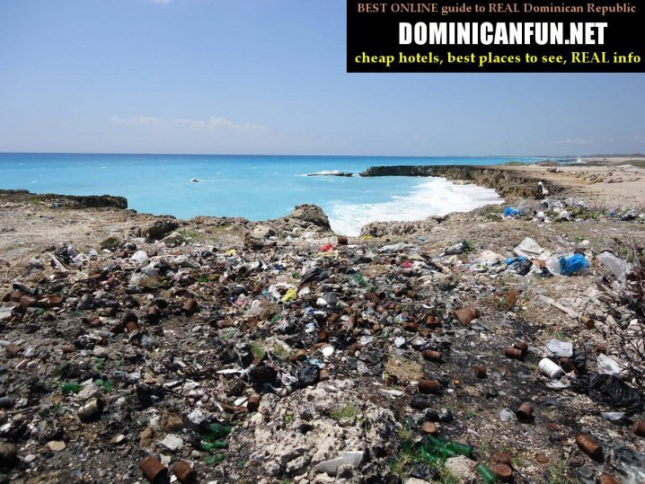 trash dump, dominican republic