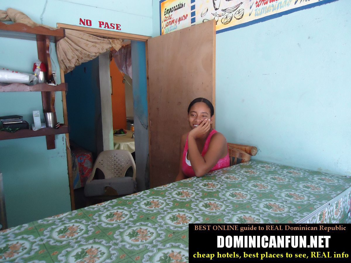 smiling dominican lady