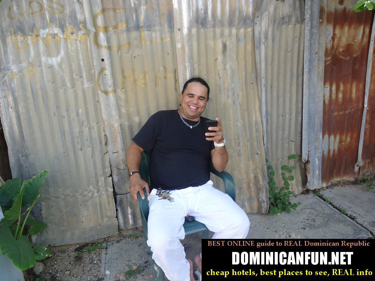 happy dominican guy