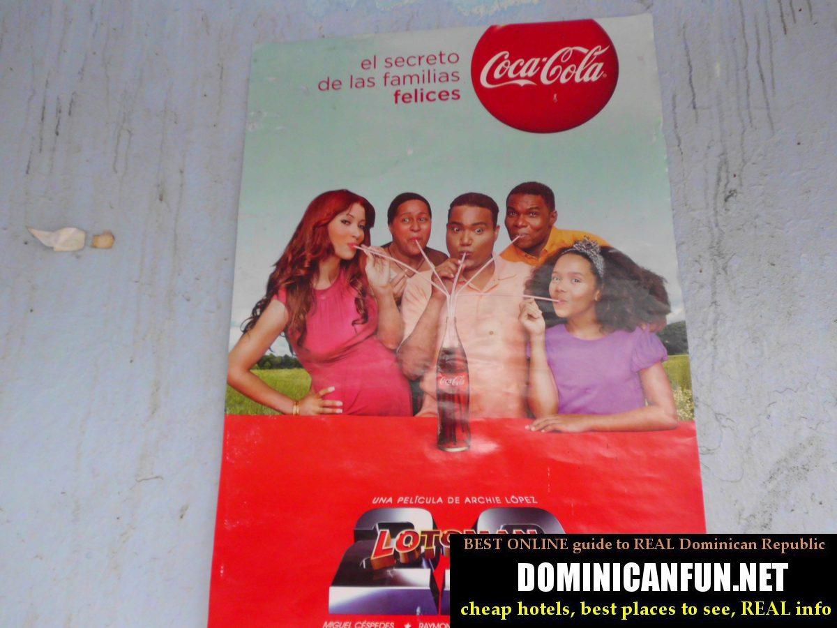 coca cola dominican advert