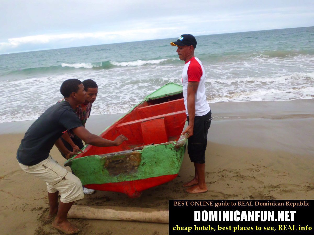 fishermen in Dominican Republic