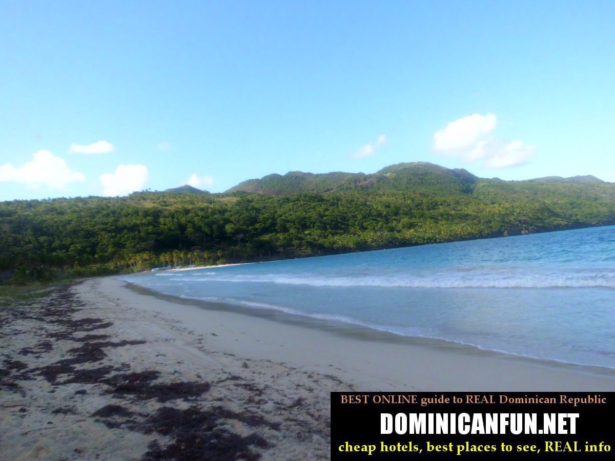 beaches in samana penisula
