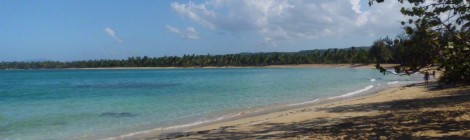 beach in Las Terrenas, Dominican Republic