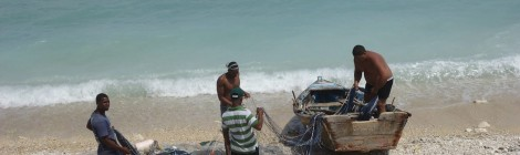 Fishermen in Enriquillo