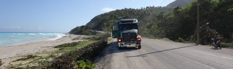 big truck in dominican fepublic