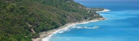 Beautiful and picturesque landscape - Paraiso, Dominican republic