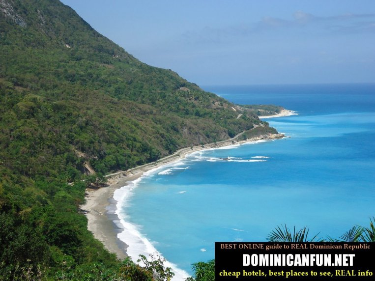 Beautiful and picturesque landscape - Paraiso, Dominican republic