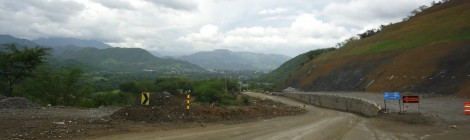 on the road to san jose de ocoa