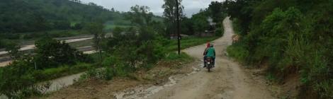 road from san jose de ocoa to piedra blanca