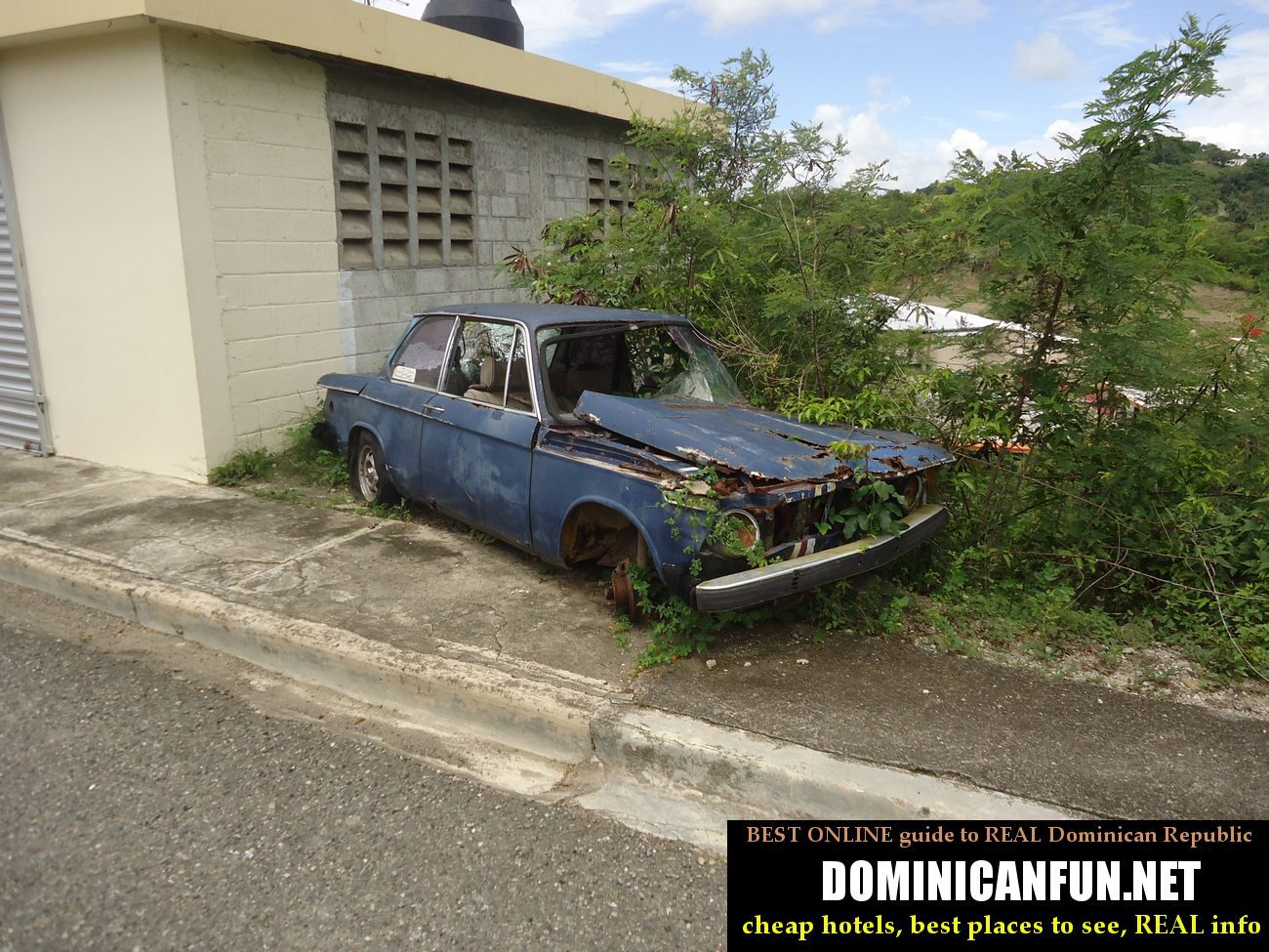 old car in janico